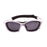 Ocean sunglasses model lake garda 13000.6 with blue frame and smoke lens polarized eyewear for water sports