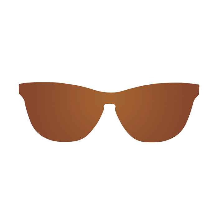 ocean sunglasses KRNglasses model LA SKU 25.9N with space silver frame and space silver lens