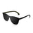 ocean sunglasses KRNglasses model LA SKU 25.6N with space red frame and space red lens