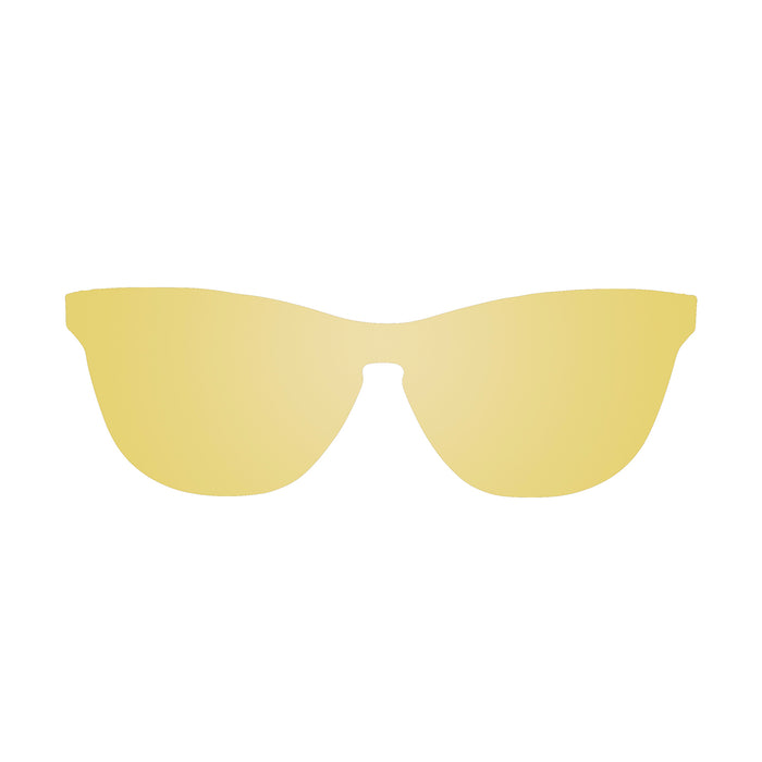 ocean sunglasses KRNglasses model LA SKU 25.5N with space gold frame and space gold lens