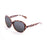 ocean sunglasses KRNglasses model ST SKU LE15300.2 with tortoise frame and smoke lens
