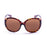 ocean sunglasses KRNglasses model ST SKU LE15300.95 with dark brown frame and brown lens
