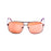 ocean sunglasses KRNglasses model VERSAILLE SKU LE19700.2 with black frame and smoke lens