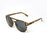 ocean sunglasses KRNglasses model REIMS SKU LE40.1 with brown frame and smoke lens
