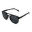 ocean sunglasses KRNglasses model REIMS SKU LE40.5 with light brown frame and smoke lens