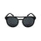 ocean sunglasses KRNglasses model REIMS SKU LE40.7 with red frame and smoke lens