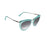 ocean sunglasses KRNglasses model LA SKU LE401.3 with black frame and gray lens