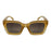 ocean sunglasses KRNglasses model LAURENT SKU LE402.5 with black frame and brown lens