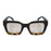 ocean sunglasses KRNglasses model LAURENT SKU LE402.7 with white frame and smoke lens