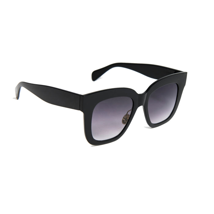 ocean sunglasses KRNglasses model LOUP SKU LE403.5 with black frame and brown lens
