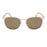 ocean sunglasses KRNglasses model RENNES SKU LE43.1 with gold frame and gold revo lens