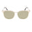 ocean sunglasses KRNglasses model DEAUVILLE SKU LE44.1 with gold frame and gold revo lens