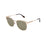 ocean sunglasses KRNglasses model DEAUVILLE SKU LE44.2 with black frame and smoke lens