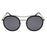 ocean sunglasses KRNglasses model BREST SKU LE48.6 with transparent frame and brown lens