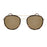 ocean sunglasses KRNglasses model LILLE SKU LE49.1 with brown frame and brown lens