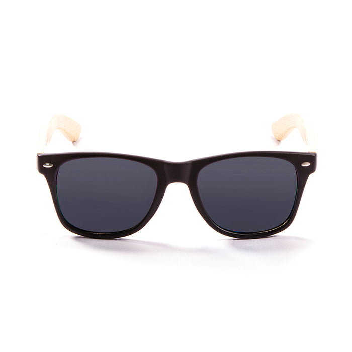 ocean sunglasses KRNglasses model BIARRITZ SKU LE50000.1 with black frame and smoke lens