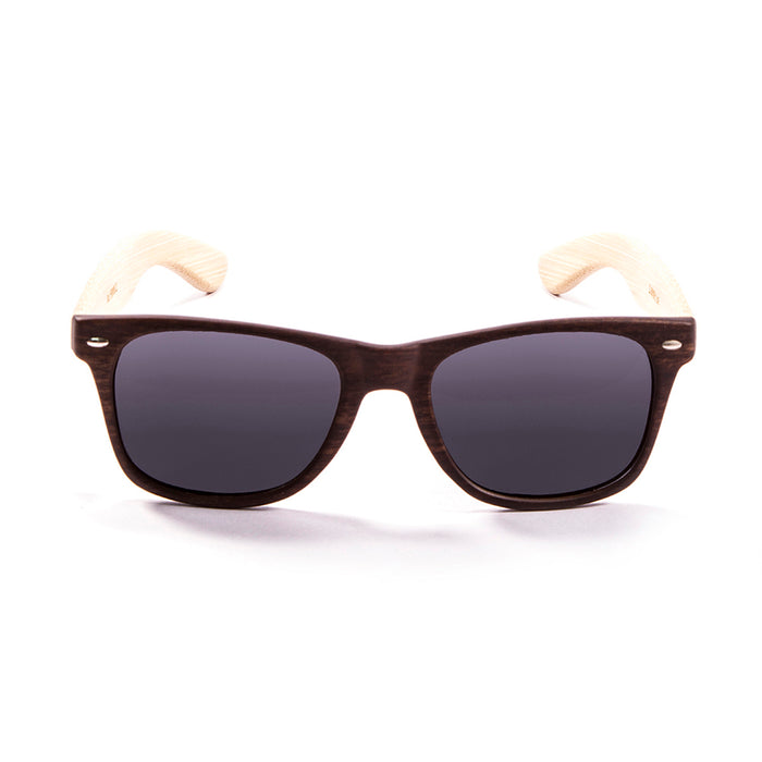 ocean sunglasses KRNglasses model BIARRITZ SKU LE50000.3 with brown frame and smoke lens