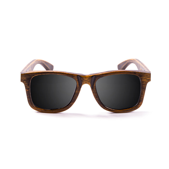 ocean sunglasses KRNglasses model OLD SKU LE53002.01 with black frame and smoke lens