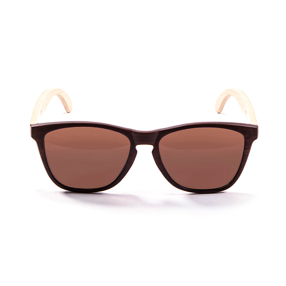 ocean sunglasses KRNglasses model CAVALAIRE SKU LE57000.2 with brown frame and smoke lens