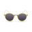 ocean sunglasses KRNglasses model LILLE SKU 10300.3 with matte black frame and smoke lens