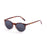 ocean sunglasses KRNglasses model LIZARD SKU 72000.3 with matte black frame and smoke lens