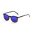 ocean sunglasses KRNglasses model LIZARD SKU 72001.2 with dark brown frame and blue lens