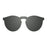 ocean sunglasses KRNglasses model LONG SKU 22.6N with space green frame and space green lens