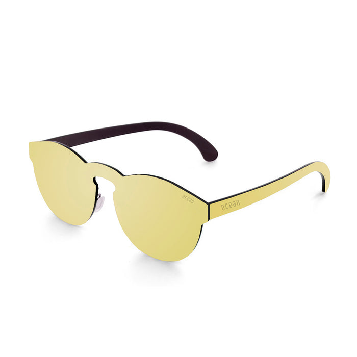 ocean sunglasses KRNglasses model LONG SKU 22.4N with space smoke frame and space smoke lens