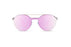 KYPERS sunglasses model LOURENZO LR006 with gold frame and pink mirror lens
