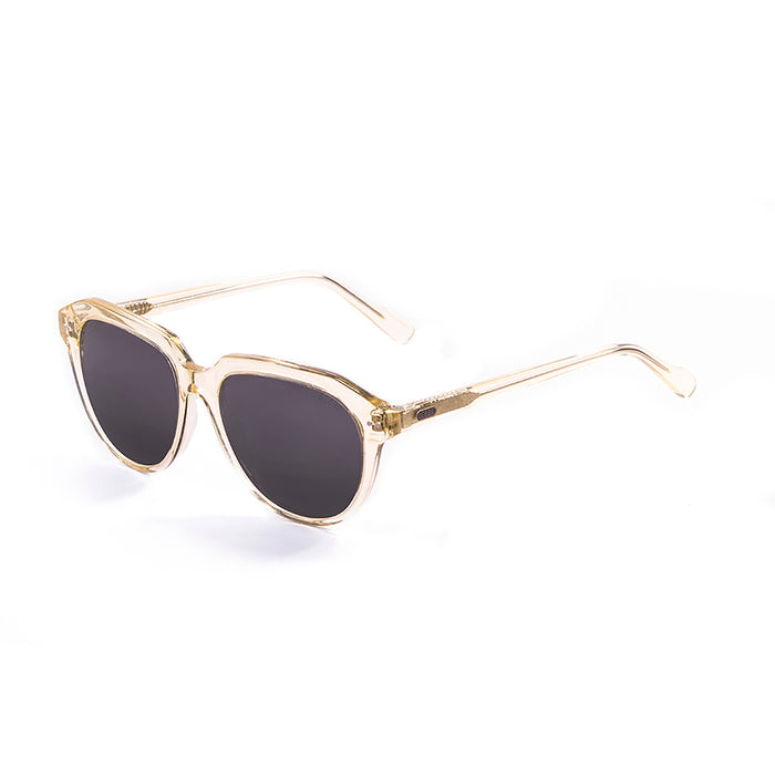 ocean sunglasses KRNglasses model MAVERICKS SKU 100000.94 with brown stained frame and brown lens