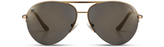 ocean sunglasses KRNglasses model MAXY SKU MXY011.S with silver frame and silver mirror lens