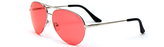 ocean sunglasses KRNglasses model MAXY SKU MXY014.S with grey frame and gold lens