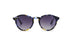 KYPERS sunglasses model MONTY MY003 with blue / yellow / black pattern frame and gradient grey lens