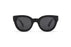 KYPERS sunglasses model PENELOPE PN001 with black frame and grey lens