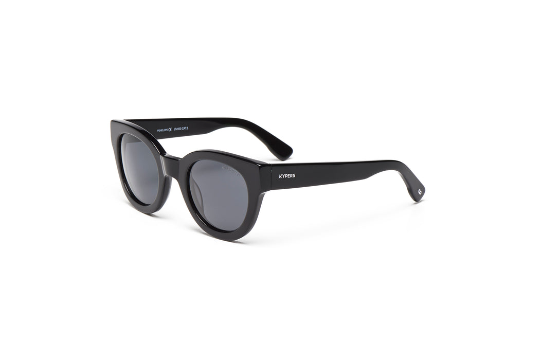 KYPERS sunglasses model PENELOPE PN002 with crystal grey frame and grey lens