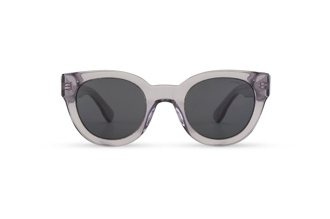 KYPERS sunglasses model PENELOPE PN003 with crystal nude frame and brown lens