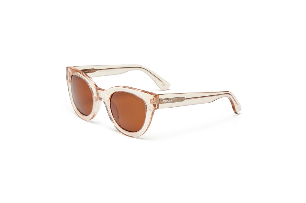 KYPERS sunglasses model PENELOPE PN006 with matt glass blue frame and blue revo lens