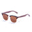 ocean sunglasses KRNglasses model REMEMBER SKU 56010.2 with demy brown frame and brown lens