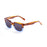 ocean sunglasses KRNglasses model SAN SKU 61000.96 with ginger transparent frame and smoke lens