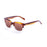 ocean sunglasses KRNglasses model SAN SKU 61000.1 with brown & white frame and revo blue lens