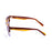 ocean sunglasses KRNglasses model SAN SKU 61000.2 with brown & blue frame and smoke lens
