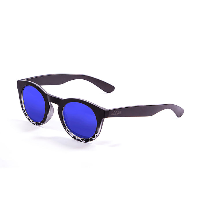 ocean sunglasses KRNglasses model SAN SKU W20000.4 with shiny coffee frame and brown lens