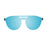ocean sunglasses KRNglasses model SAN SKU 75207.2 with demy brown frame and brown flat lens