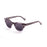 ocean sunglasses KRNglasses model SANTA SKU 62000.53 with white tortoise frame and smoke lens