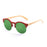 ocean sunglasses KRNglasses model SOTAVENTO SKU 65000.4 with demy brown frame and brown lens