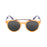 ocean sunglasses KRNglasses model TIBURON SKU 10200.16 with transparent red frame and space red lens