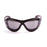 Ocean sunglasses model tierra de fuego 12200.0 with matte black frame and smoke lens polarized eyewear for water sports