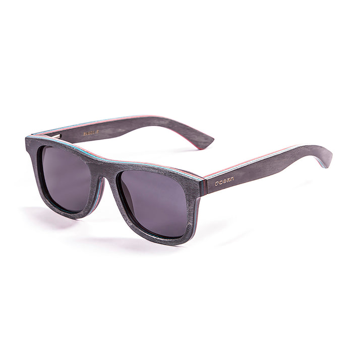 ocean sunglasses KRNglasses model VENICE SKU 54001.5 with skate blue frame and smoke lens