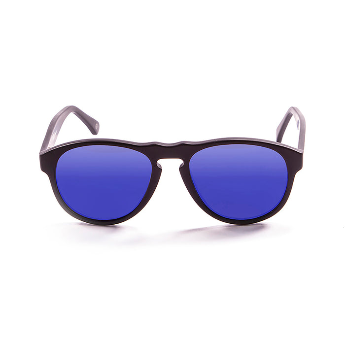 ocean sunglasses KRNglasses model WASHINGTON SKU 5000.96 with ginger transparent frame and smoke lens