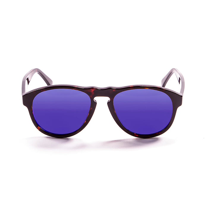 ocean sunglasses KRNglasses model WASHINGTON SKU 5000.0 with matte black frame and smoke lens